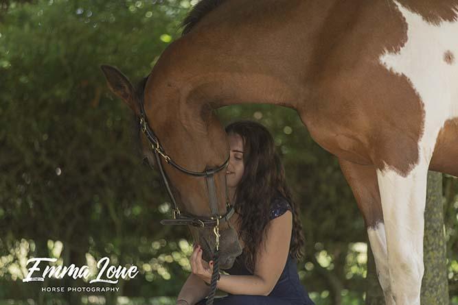 Georgina and Lady – Emma Lowe Horse Photography
