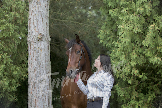 Lauren and Tin Tin Emma Lowe Horse Photography