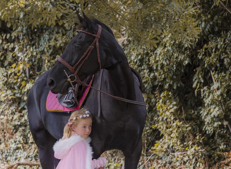 Pony and Child – Penelope Emma Lowe Horse Photography
